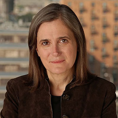 Amy Goodman, award-winning alternative investigative journalist.