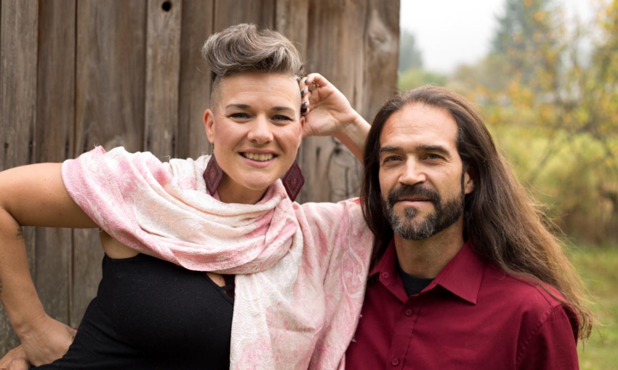 Venessa Loubert and Perry Dzuris, owners of Arcane Coda in Salmo, B.C.