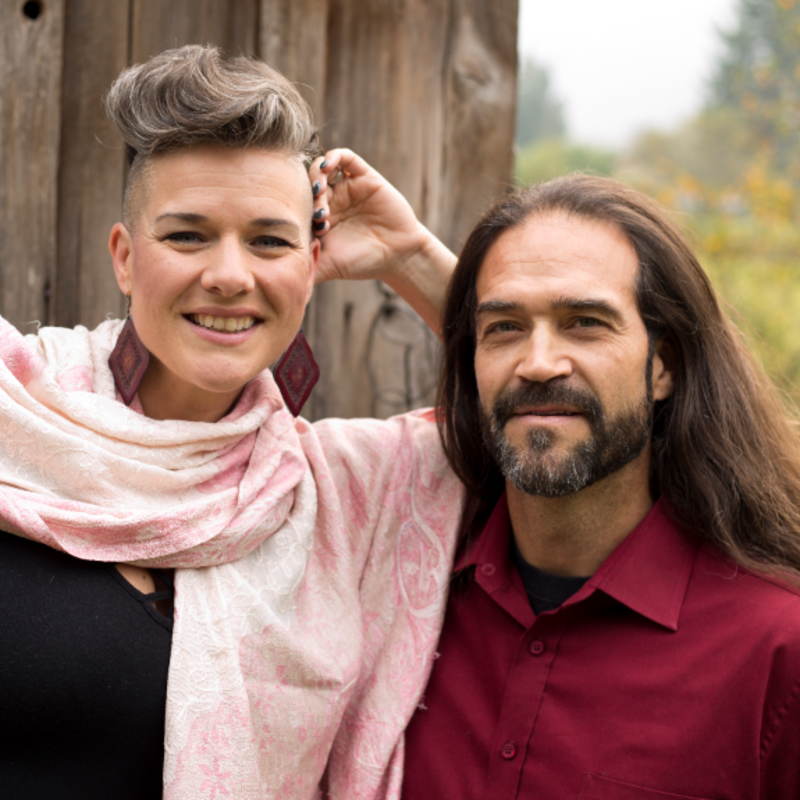 Venessa Loubert and Perry Dzuris, owners of Arcane Coda in Salmo, B.C.