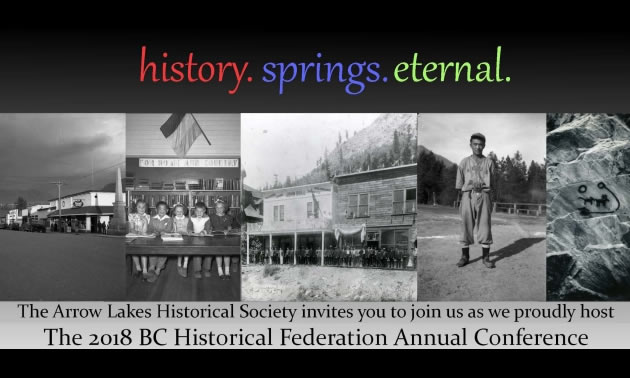 Graphic for Historical Federation Conference.