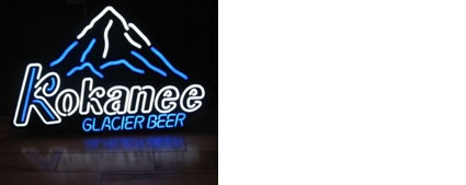 Kokanee beer sign