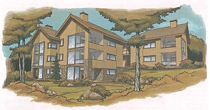 artist's image of a condo