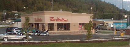 Tim Hortons building