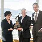 Mining Person of the Year 2012 (Karina Briño, Pierre Lebel, Scott Broughton).