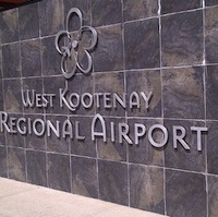 West Kootenay Regional Airport.
