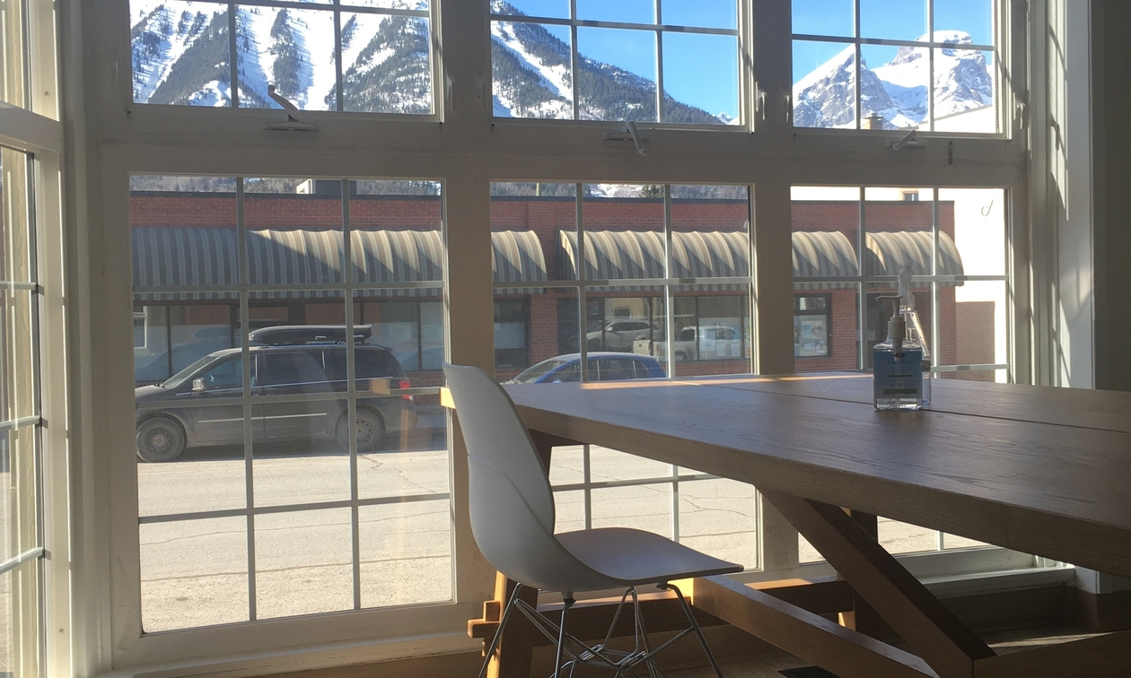 coworking space in Fernie, BC