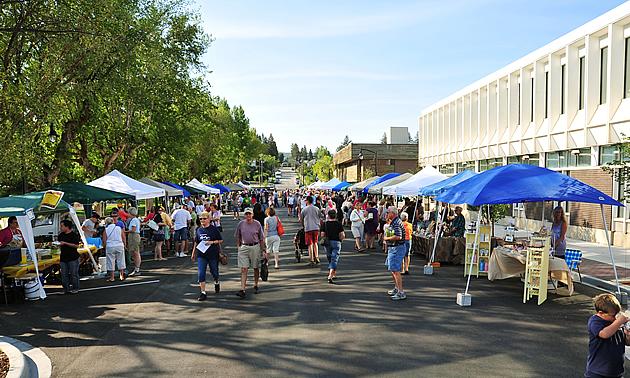Cranbrook's farmers market is a popular attraction.