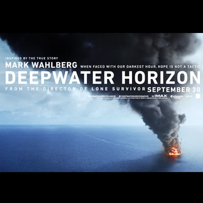 Movie poster for Deepwater Horizon.