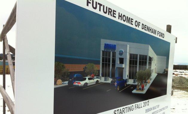 Denham fords new location