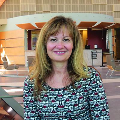 College of the Rockies' Director of Student Affairs, Doris Silva.