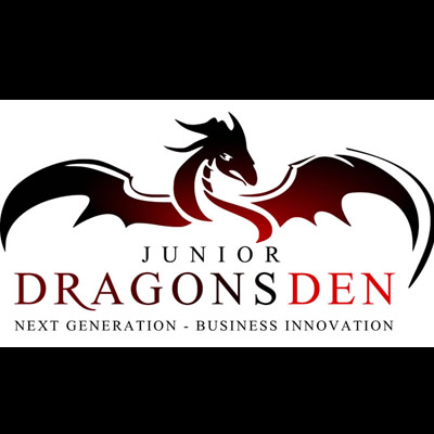 Junior Dragons Den logo.