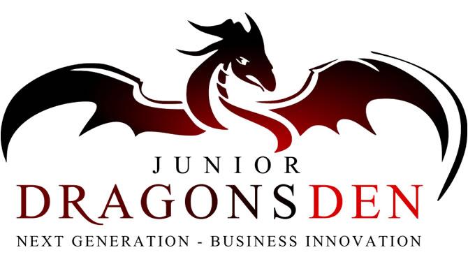 Junior Dragons Den logo.