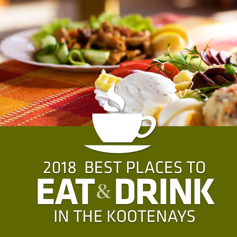 Best Places in the Kootenays to Eat & Drink 2018
