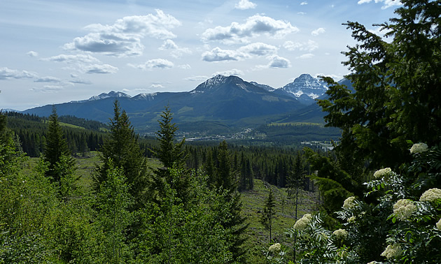 Elkford has majestic wilderness on all sides.
