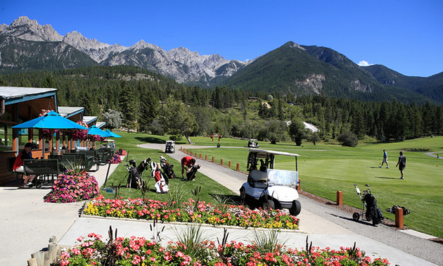 Fairmont Hot Springs is an all-season playground.