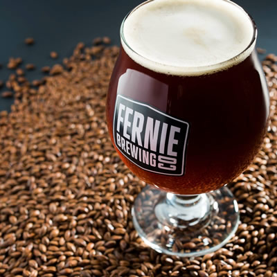 Fernie Brewing Company jumped to the top of the list with sales of $2,9 million, up 41% from 2015.