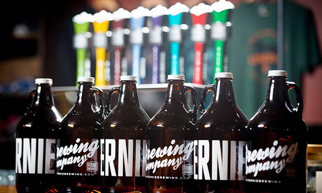 Fernie Brewing Company is at the top of the list with beer sales hitting just over $4 million and up over $1 million or 41% from the 2016.