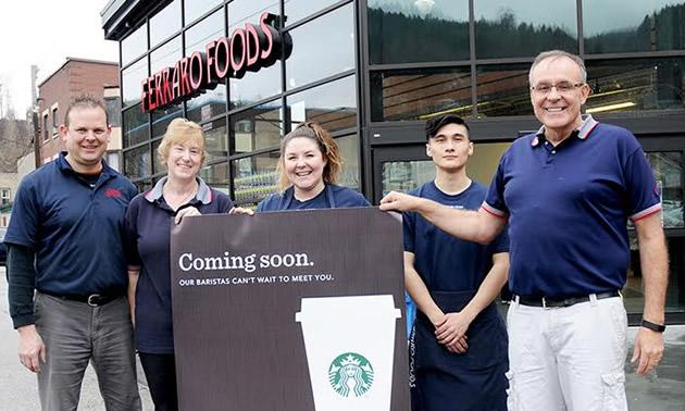 Trail's Ferraro Foods brewing up a Starbucks | Kootenay Business