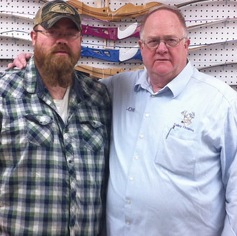 Father-and-son team John Urquhart Sr. And John Urquhart Jr. operate Valley Firearms together in Trail, B.C.