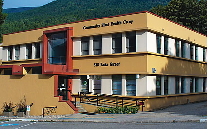 the Community First Co-op building