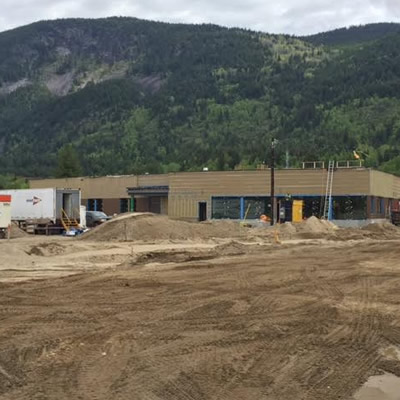 The FortisBC Kootenay Operations Centre is nearing completion and slated to be finished towards the end of 2017.