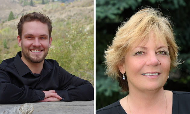 Real estate agents Logan Melville and Val Wright are professionals, dedicated to making dreams come true.