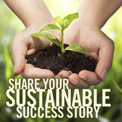 Share your sustainable success story