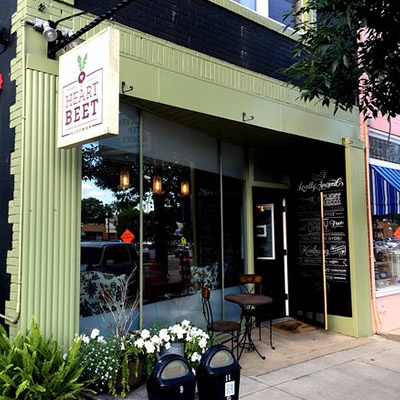 Picture of heartbeet Bistro.