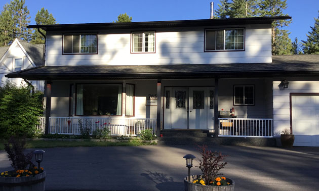 This photo shows one of the two houses that Kim and Mike sold in Cranbrook in 2019.