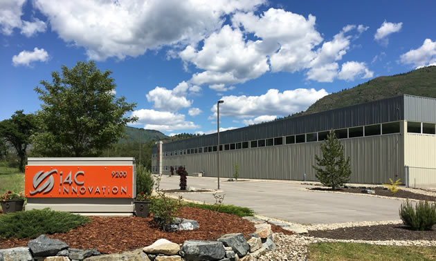 The Trust partnered with tech industry entrepreneurs, i4C, to fill a commercial building near Trail with innovative businesses.