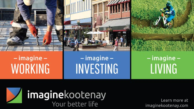 Graphic of Imagine Kootenay website.