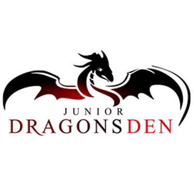 Logo for the Junior Dragons Den.