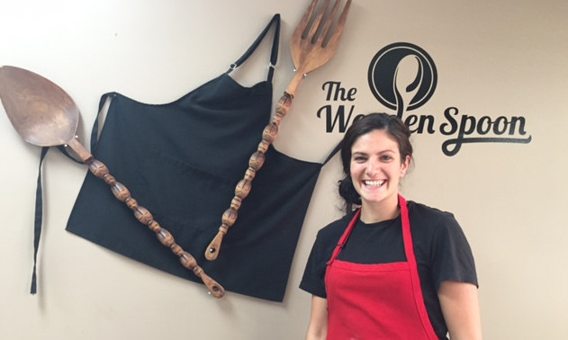 Kayla Sebastian, owner of the Wooden Spoon Bistro in Grand Forks.