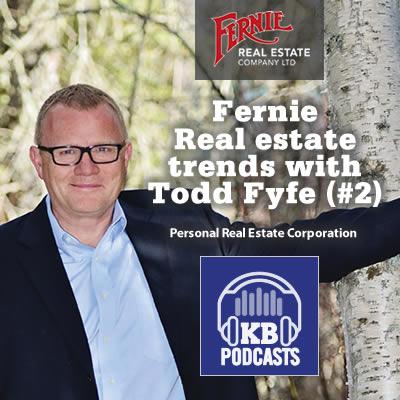 Todd Fyfe, owner and managing broker at Fernie Real Estate in Fernie.