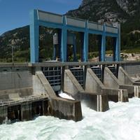 Photo of Hugh Keenleyside Dam near Castlegar