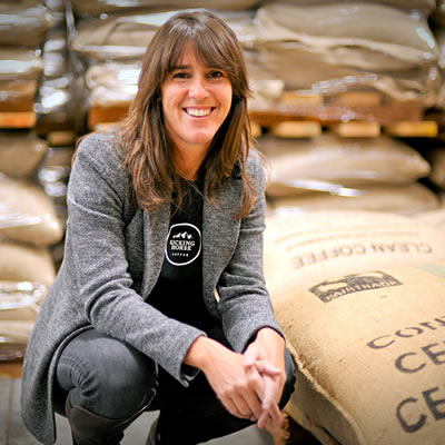 Elana Rosenfeld is the CEO of Kicking Horse Coffee based in Invermere.