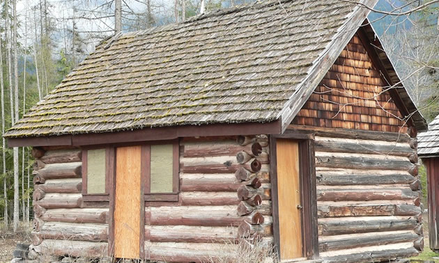 Billy Clark's cabin is a great example of pre-1960s pioneer life in the Meadow Creek area.