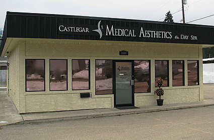 Exterior shot of  Castlegar Medical Aesthetics and Day Spa