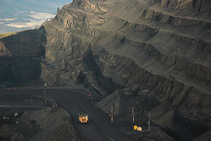 mine site
