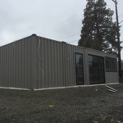A new restaurant is being built on Highway 95A in Marysville.