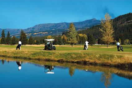 A course photo of Mountain Meadows