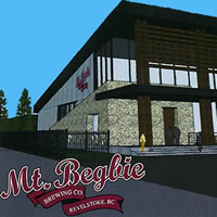 Rendering of proposed expansion to Mt. Begbie Brewing Co. in Revelstoke, B.C.