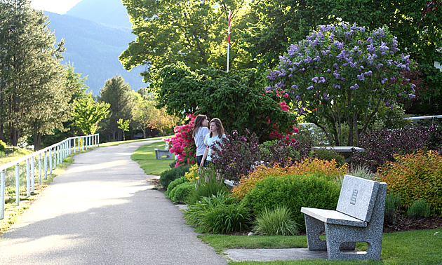 Nakusp is a charming lakeside village.