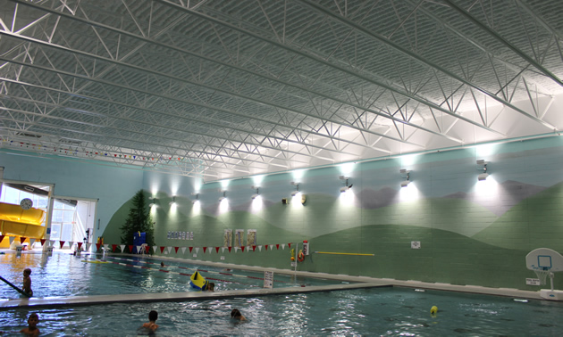 Customers have told the NDCC they appreciate the brighter, more spacious pool area.