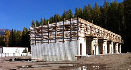 Photo of a building under construction