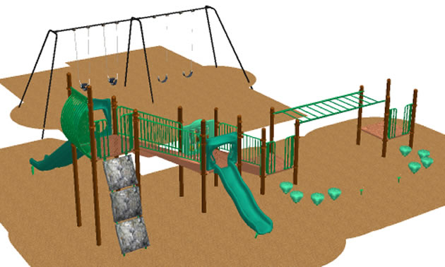 The Slocan Park Community Hall Society will upgrade its playground thanks to support from a Columbia Basin Trust Recreation Infrastructure Grant.