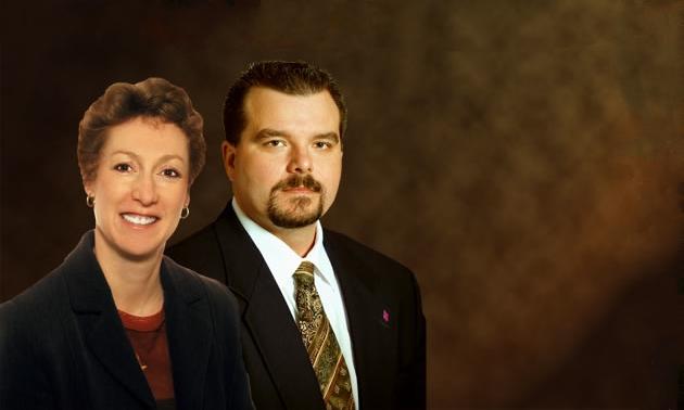 Photo of Tammy Darough and Scott Moorey