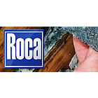Roca Mines logo and image of rock