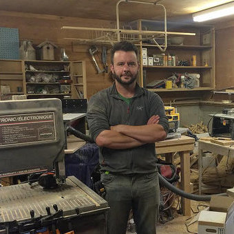 Aidan McLaren-Caux, Proprietor of AMC Naturals in Nakusp