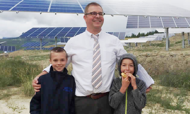 City of Kimberley CAO, Scott Sommerville, helped to bring the SunMine project into production.